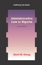 Administrative Law in Nigeria