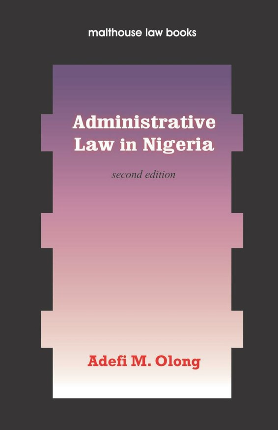 Administrative Law in Nigeria
