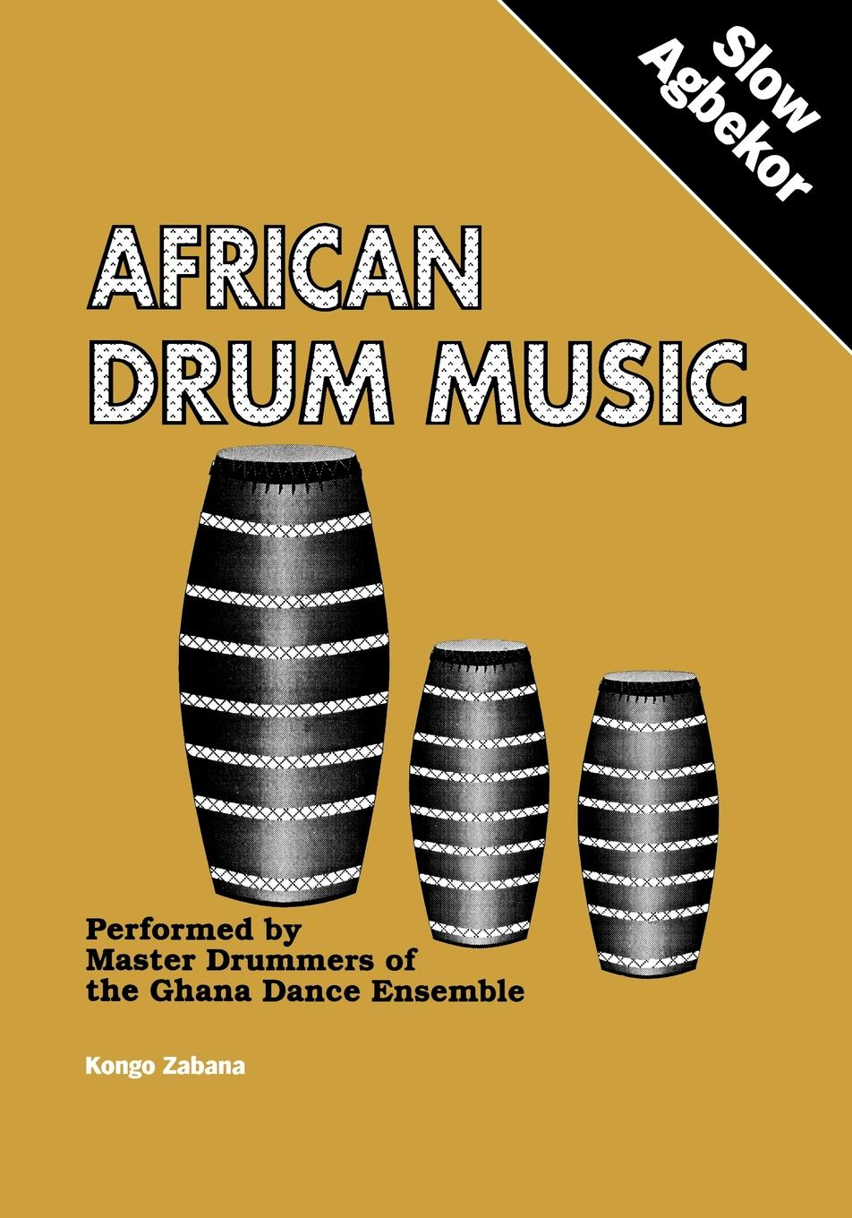 African drum music slow agbekor