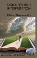Basics for Bible Interpretation