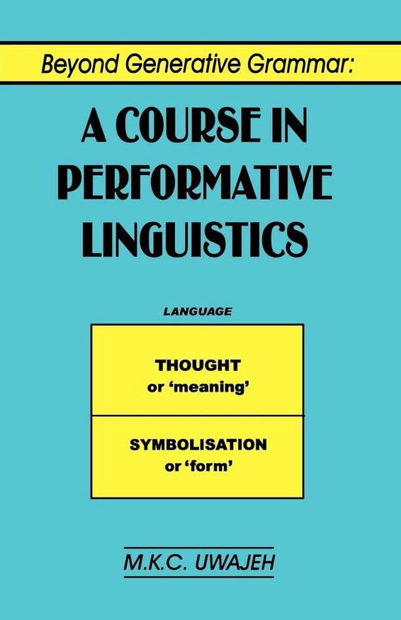 Beyond Generative Grammar