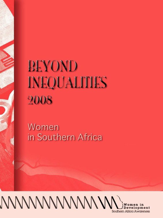 Beyond Inequalities 2008. Women in Southern Africa