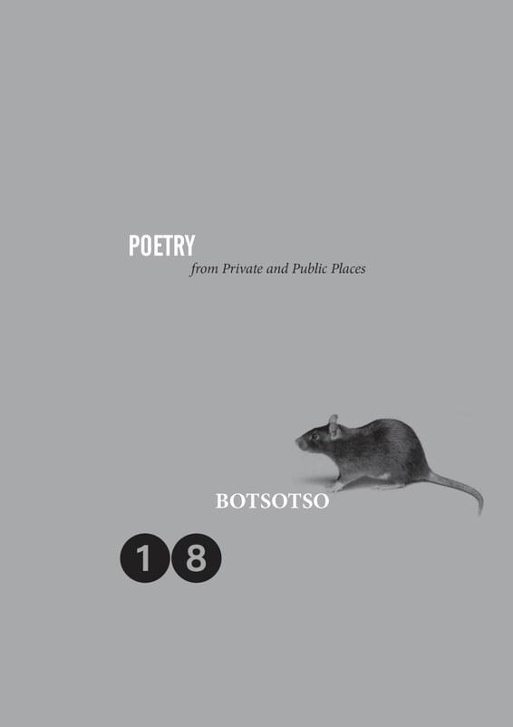 Botsotso 18: Poetry
