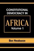Constitutional Democracy in Africa. Vol. 1