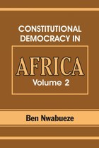 Constitutional Democracy in Africa. Vol. 2