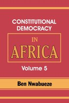 Constitutional Democracy in Africa. Vol. 5