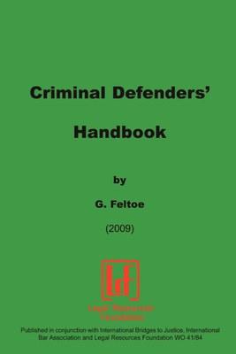 Criminal Defenders Handbook