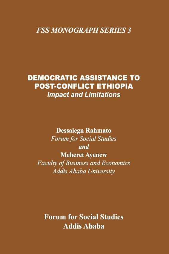 Democratic Assistance to Post-Conflict Ethiopia