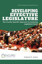 Developing Effective Legislature