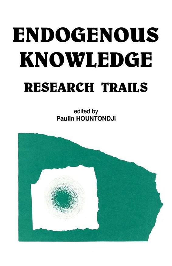Endogenous Knowledge: Research Trails