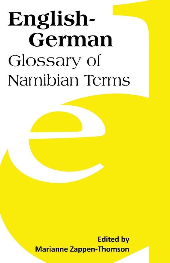 English-German: Glossary of Namibian Terms