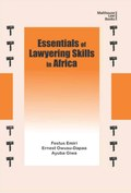 Essentials of Lawyering Skills in Africa