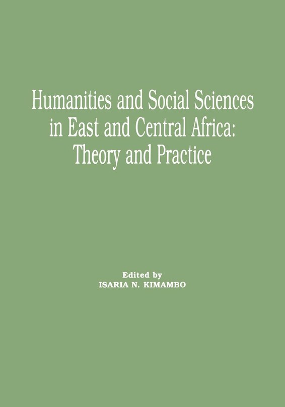 Humanities and Social Sciences in East and Central Africa