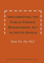 Implementing the Public Finance Management Act in South Africa
