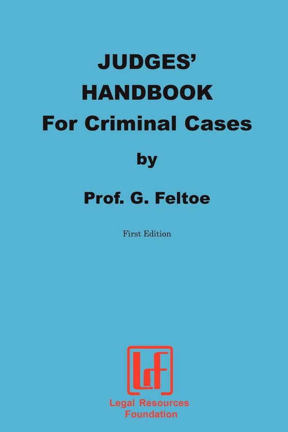 Judges' Handbook for Criminal Cases