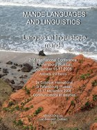 Mande Languages and Linguistics: 2nd International Conference