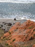 Mande Languages and Linguistics: 2nd International Conference