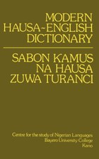 Modern Hausa-English Dictionary