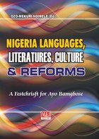 Nigerian Languages, Literatures, Culture and Reforms