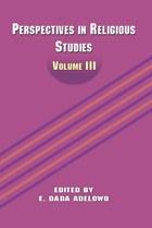 Perspectives in Religious Studies: Volume III