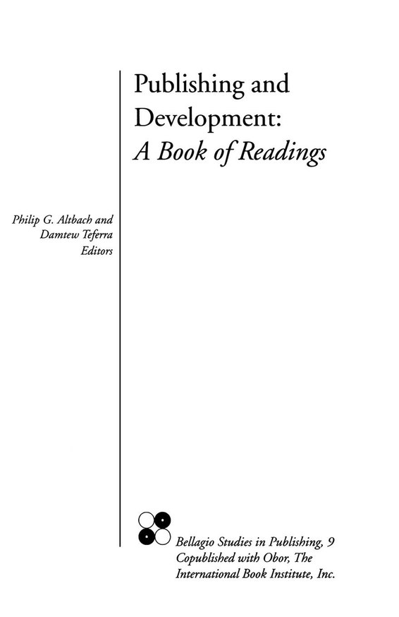 Publishing and Development