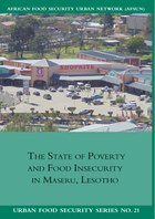 The State of Poverty and Food Insecurity in Maseru, Lesotho