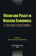 Vision and Policy in Nigerian Economics